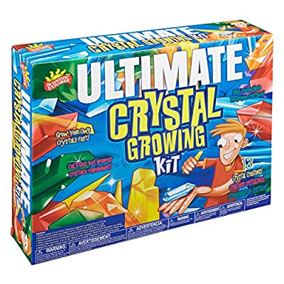 Scientific Explorer Ultimate Crystal Growing Kids Science Experiment Kit: Toys & Games