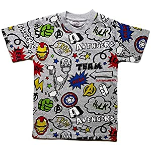 Avengers Little Boys Graphic Tee