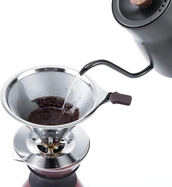 Filtro Coador De Café Permanente De Inox Design Moderno