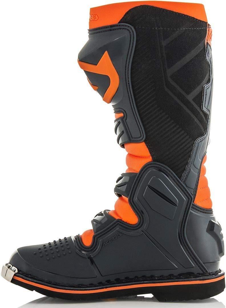 Grau//Gelb Acerbis Motocross-Stiefel X-Pro V