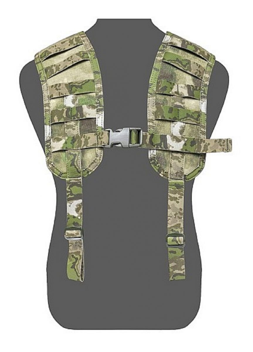 Warrior Molle Harness A-Tacs FG
