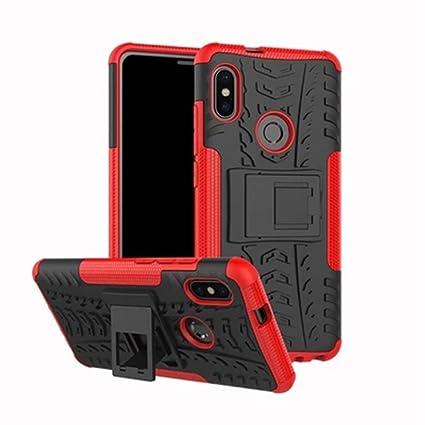 ROCKWEY Funda para Xiaomi Redmi Note 5,cáscara del teléfono,la Banda de Rodadura