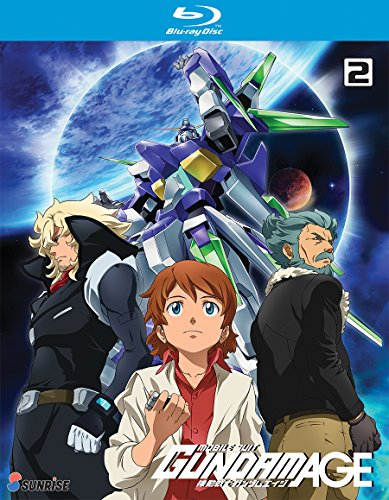 Mobile Suit Gundam Age TV Series: Collection 2 [Blu-ray]