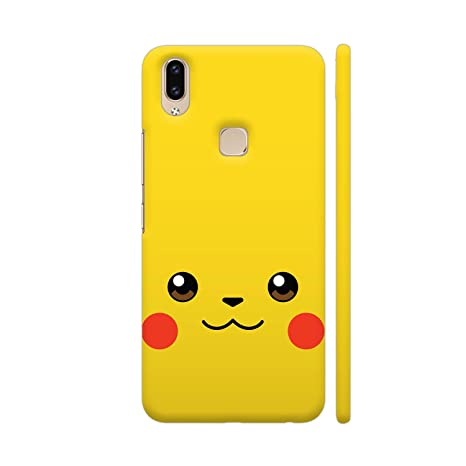 differently 65e87 0f1af Colorpur Vivo V9 Cover - Pokemon Pikachu On Yellow: Amazon.in ...