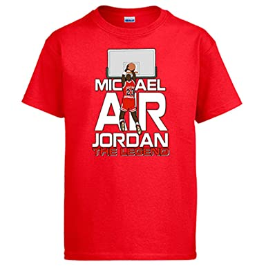 Camiseta Michael Air Jordan The Legend Leyenda de Baloncesto: Amazon.es: Ropa y accesorios