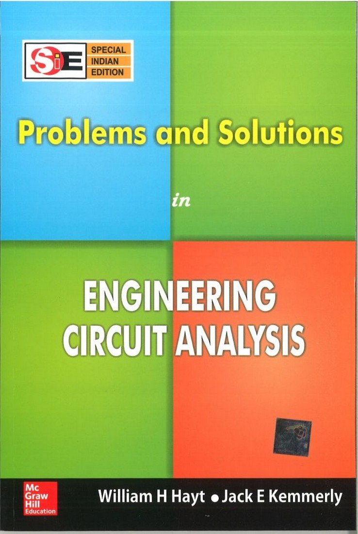 Buy Problems and Solutions in Engineering Circuit Analysis (SIE) Book  Online at Low Prices in India   Problems and Solutions in Engineering  Circuit Analysis ...
