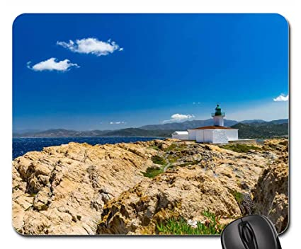 f295a53131c8 Amazon.com   Mouse Pad - Nature Sky Sea Travel Rock Corsica Sardinia ...