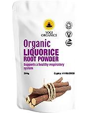 Organic Liquorice Root Powder 250g - Premium Grade - Certified Organic by The Soil Association