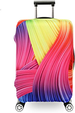 Fvstar Dustproof Colorful Luggage Cover