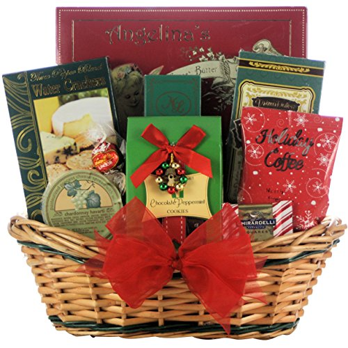 GreatArrivals Tidings of Joy Gourmet Holiday Christmas Gift Basket, Small, 4 Pound