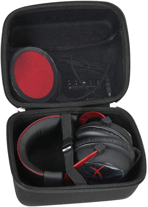 321f4aac243 Amazon.com: Hermitshell Travel Case Fits HyperX Cloud I II Gaming Headset  KHX-HSCP-RD/KHX-H3CL/WR: Computers & Accessories