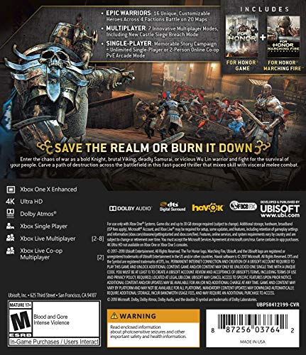 for Honor Marching Fire Edition - Xbox One Standard Edition