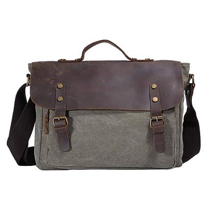 f2760e93e8e8 Vintage Canvas Messenger Bag – 14
