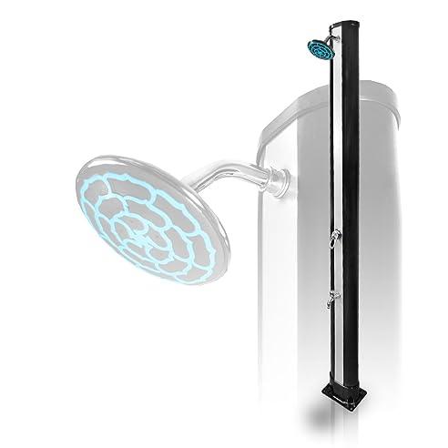 solardusche pooldusche 35 liter mit wasserhahn - Dusche Garten Ohne Wasseranschluss