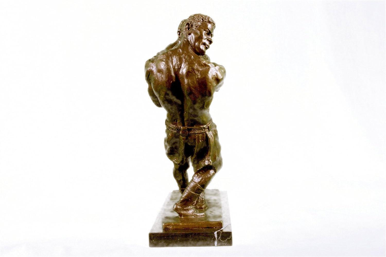 Bronze Collector Edition Signed Art Sculpture Muhammad Ali  Sonny Liston Boxing