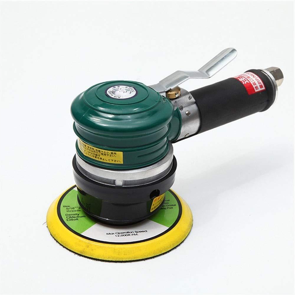 Pneumatic Eccentric Grinding Machine, No Oil 5 Inch Pneumatic Sandpaper Machine, Self-adhesive Chassis Polishing Machine by XIAOL-Pneumatic Tool