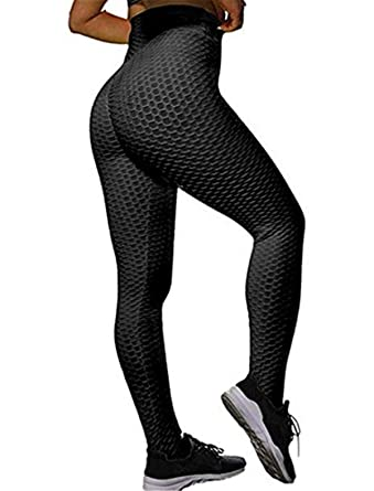 3d0da5396db15 Amazon.com: Jwang Anti-Cellulite Compression Leggings Yoga Pants Butt  Lifting Stretchy Leggings: Clothing