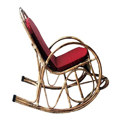 Enjoyable All India Handicrafts Bamboo Cane Rocking Chair Hmcss003C Dailytribune Chair Design For Home Dailytribuneorg