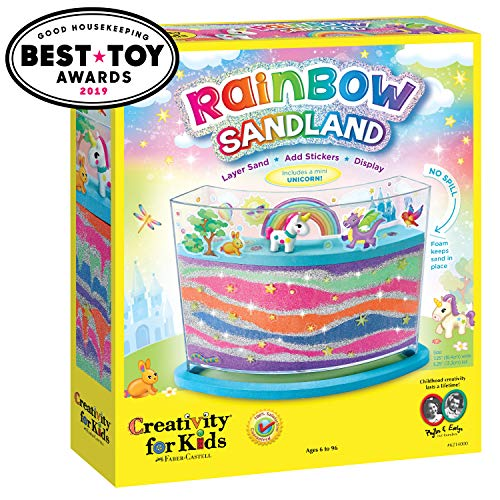 Creativity for Kids Rainbow Sandland, Pack of 1