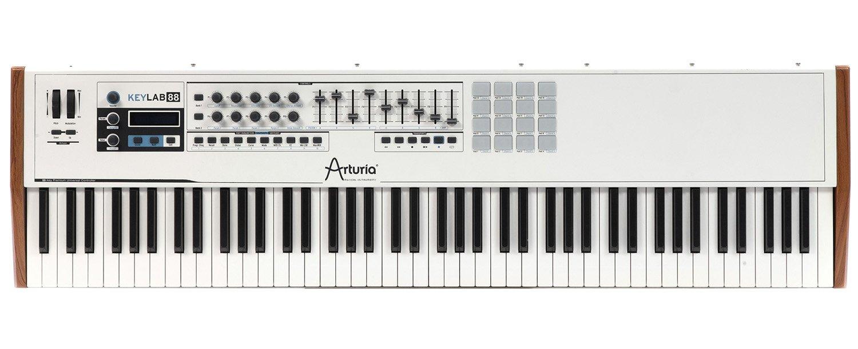 Arturia KeyLab 88 MIDI/USB Hammer-Action Hybrid Keyboard Controller