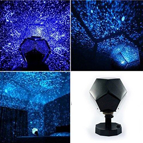 Gbell Starry Sky Night Lamp Projector,DIY Assemble Celestial Star Night Lights Projection,Romantic Relaxing Mood Light for Kids Adults Bedroom Garden Holiday Party Blue]()