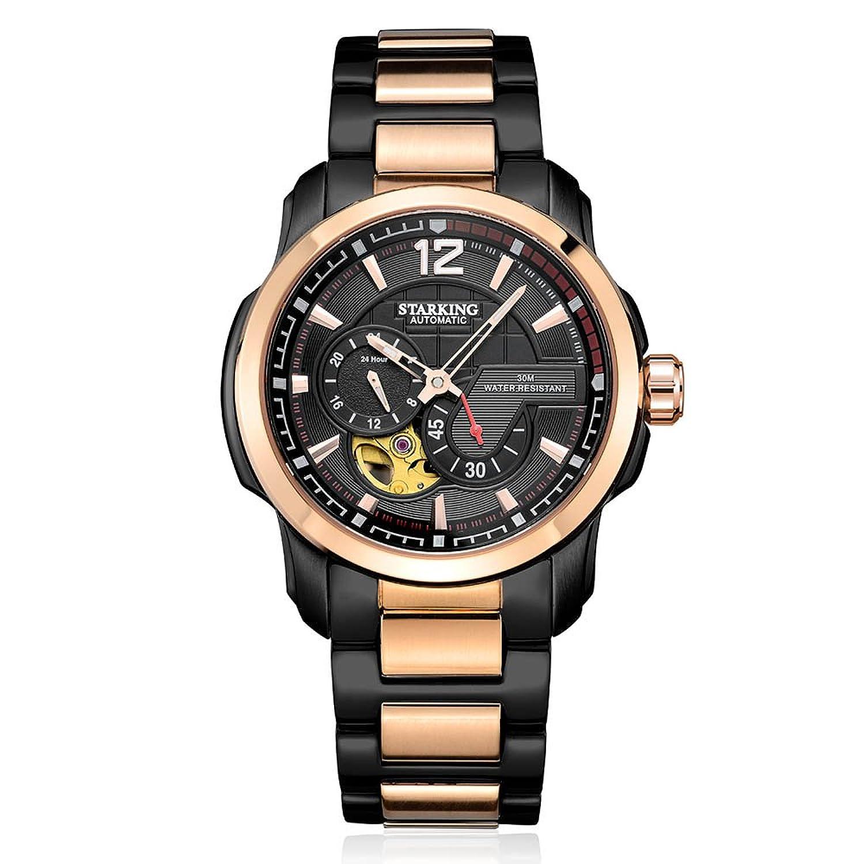 Starking Herren Armbanduhr am0167rs32 Bicolour Skelett Funktion automatisch Kleid