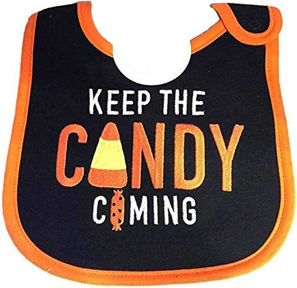 Carters Just One You My First Halloween Teething Bib Water Resistant