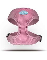 CURLI Basic Geschirr Air-Mesh Pink Plush BA-PI
