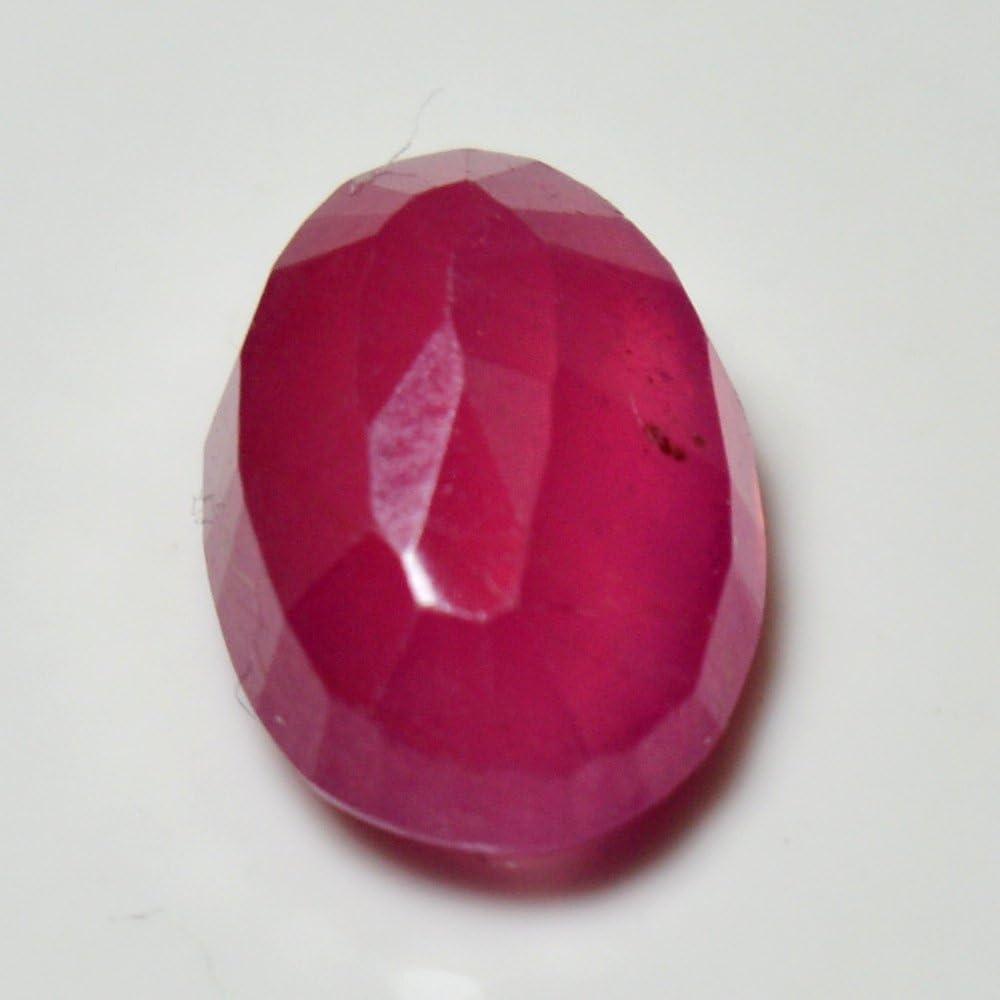 Rose Naturel Rubis Courroie Pierre pr/écieuse /à facettes 4.2/carats Forme Ovale Chakra Gu/érison Pierre Porte-Bonheur Juillet Astrologique AA