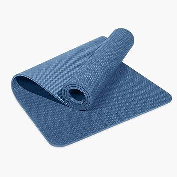 Amazon.com: QYSZYG Yoga Mat TPE Yoga Mat Thickening Widening ...