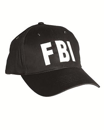 FBI Black Baseball Cap Tactical Hat Special Agent Security Guard   Amazon.co.uk  Clothing fc61a46c089