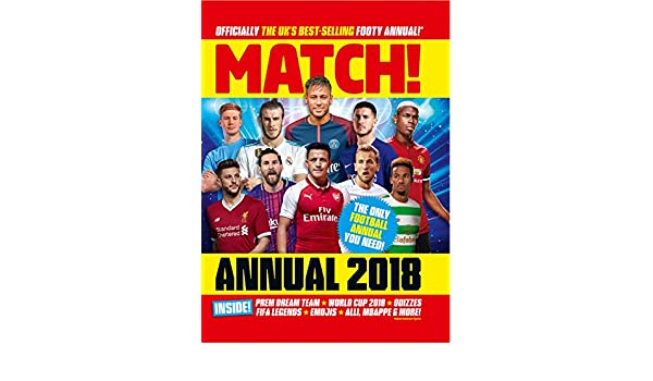 c8bba6bea29 Match Annual 2018 (Annuals 2018) - Kindle edition by MATCH. Children Kindle  eBooks   Amazon.com.