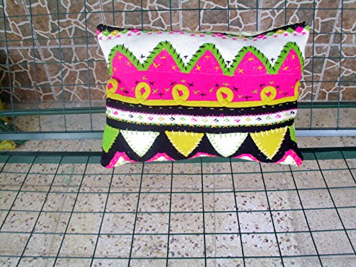 Amazon.com: 18x20 Hand Knitted and Embroidered Pillow Cover ...