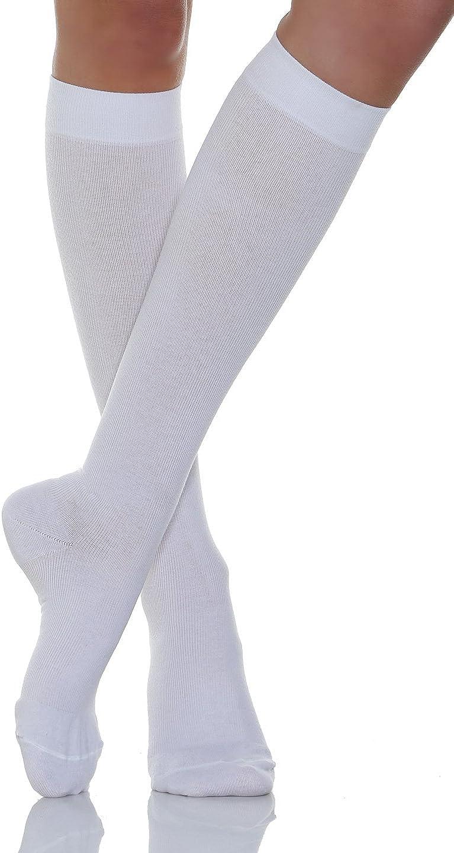 Relaxsan 920 Calcetines hasta la rodilla contenitivo compresi/ón graduada 22-27 mmHg algod/ón Unisex