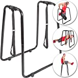 C.P. Sports Dip Station with Loops Dipper Station ? Stand, Sling Trainer, Dip, Dip Stand, Dip Bars