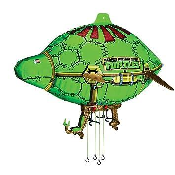 tortues ninja ballon dirigeable vhicule pour figurine 12 cm