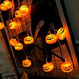 KAILEDI Halloween String Lights, LED Pumpkin