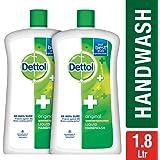 Dettol Germ Protection Handwash Jar - 900 ml (Original, Pack of 2)
