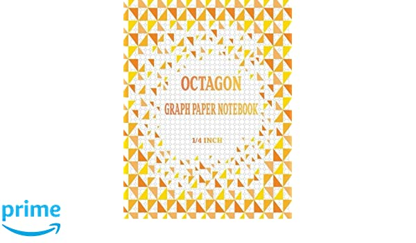 Amazon.com: Octagon Graph Paper Notebook: Spiral Graphing ...