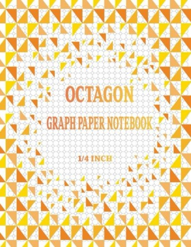 Octagon Graph Paper Notebook: Spiral Graphing Composition Grid Ruled ...