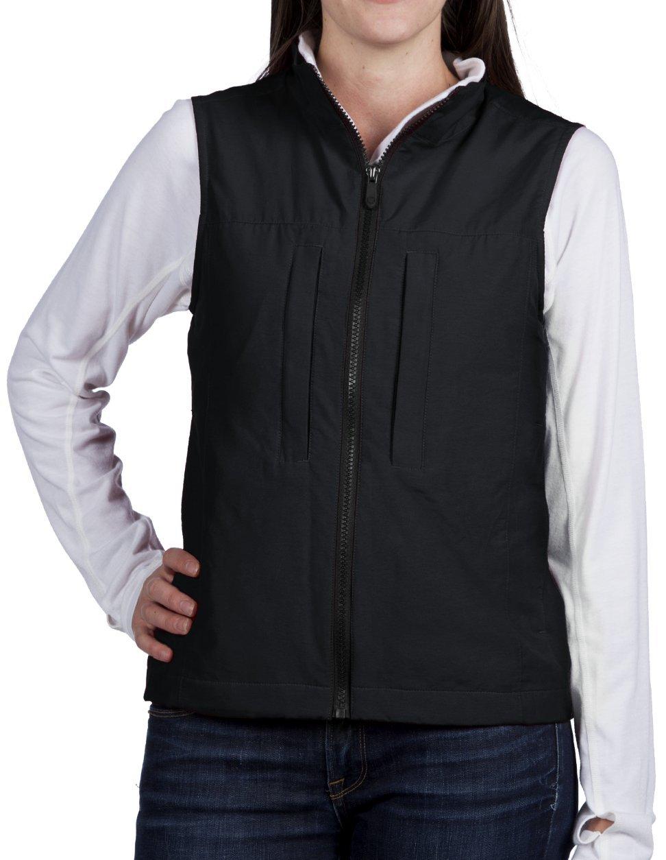 SCOTTeVEST NBT Vest for Women - 8 Pockets - BLK M