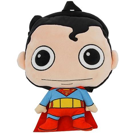 c42841e3f7 DC Comics Superman originale peluche zaino per bambini: Amazon.it ...