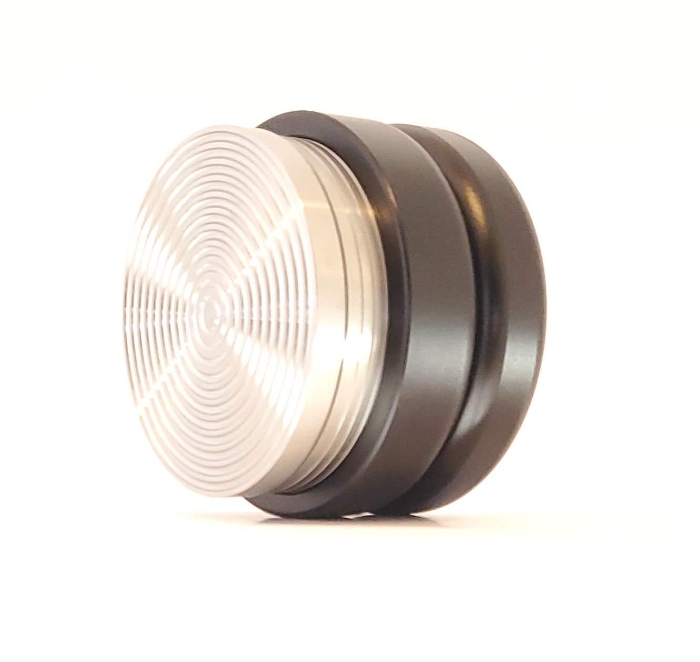 53mm Espresso Distributor Leveler Tool, Spiral Coffee Distributor, Espresso Leveler Tool (Black) by MindfulKing