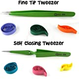 Quill On Quilling Tweezers - Set Of 2 - Quilling Tools