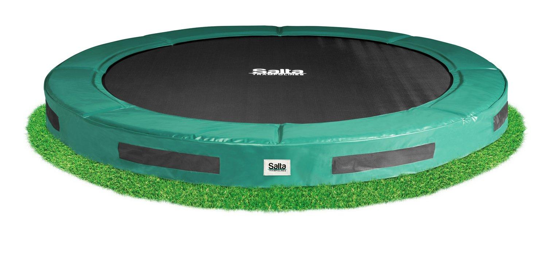Salta 12 ft 366 cm Hervorragende Boden Trampolin (Forrest grün)