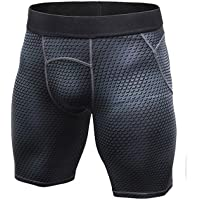 "LANBAOSI 6"" Underwear Training Shorts Compression Baselayer Fitness Tight"
