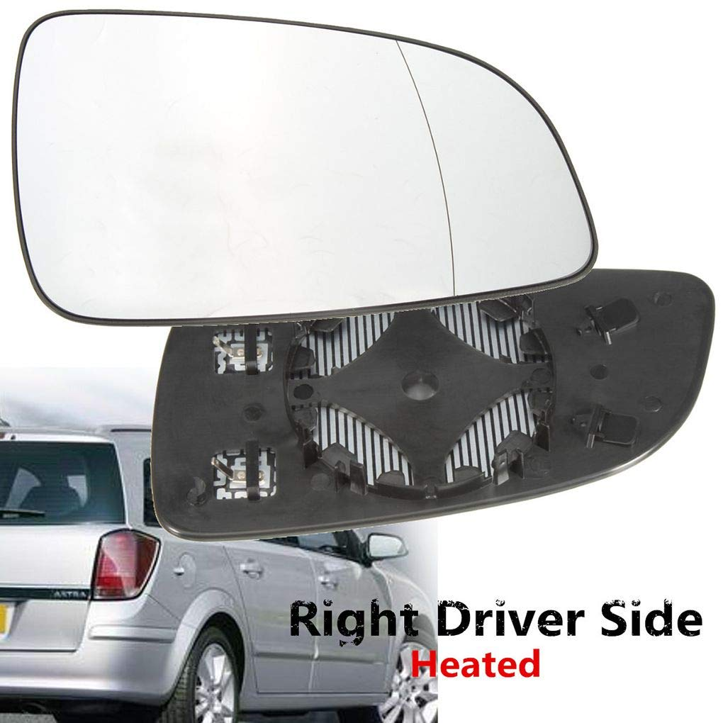 Right Driver Side Heated Wing Mirror Glass Lens Replacement for VAUXHALL ASTRA H mk5 2004-2008 Windy5