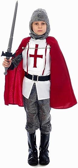 Child - Disfraz de caballero infantil, talla 3-5 años (U36 033 ...
