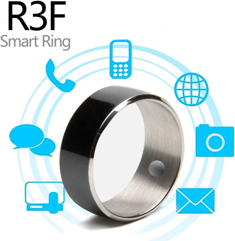 CZX Timbre Inteligente R3f Electrónica De Consumo Accesorios para Teléfonos Móviles 2020 Productos Populares Elegante Androide del Teléfono del Reloj Smartwatch, Timbre Inteligente,Negro,12