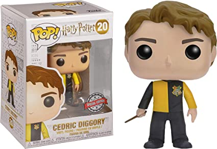 EXCLUSIVO Cedric Diggory Funko POP Harry Potter